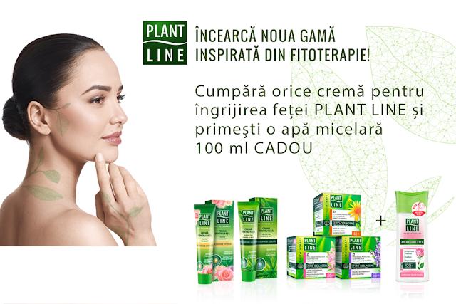 Incearca noua gama Plant Line inspirata din fitoterapie!