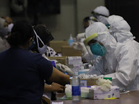 Sleman Adakan Rapid Test Massal Kedua bagi Pengunjung Indogrosir