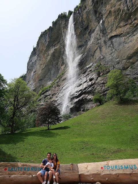 cascada de Staubbach Lauterbrunnen Suiza