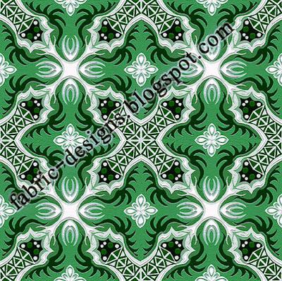 geometric textile design