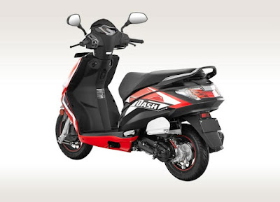 All New Hero Dash 110cc Scooter Hd Wallpapers