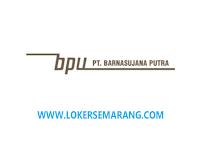 Loker Semarang Supervisor Area di PT Barnasujana Putra