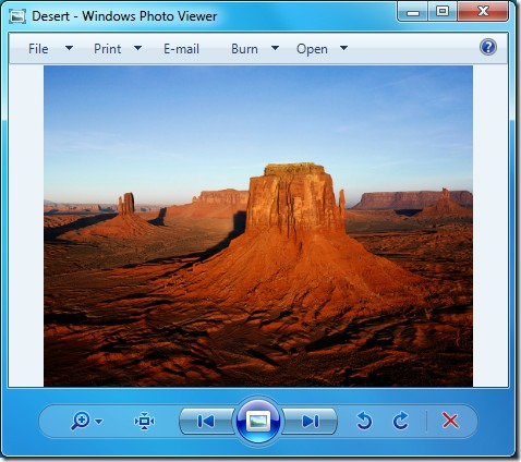 Cómo restaurar Windows Photo Viewer en Windows 10