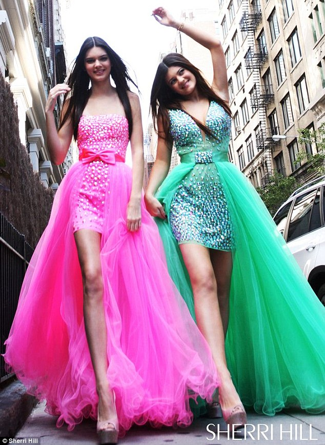 Sherri Hill Prom Dresses Featuring Kendall And Kylie Jenner