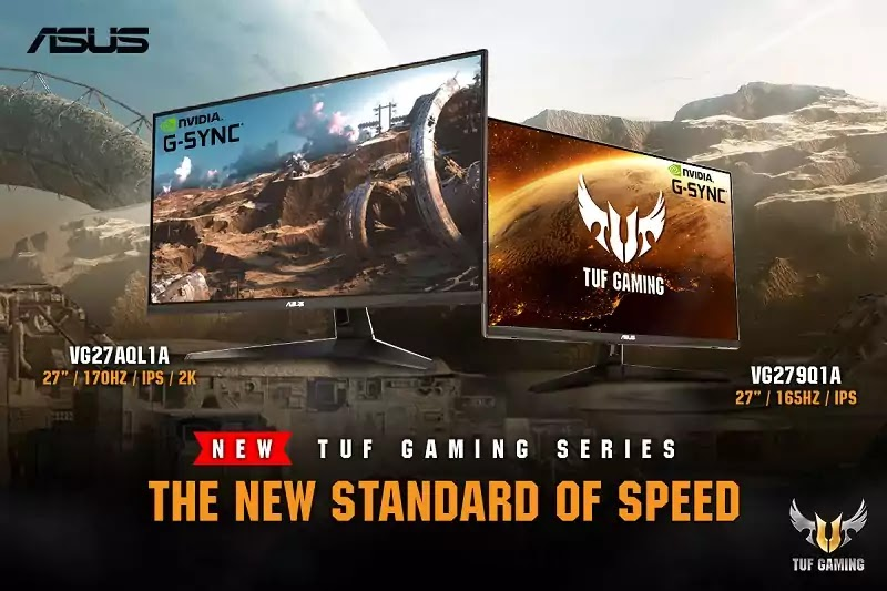 ASUS TUF Gaming VG27AQL1A and VG279Q1A