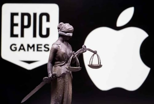 Apple claims to be competitive in the video game market