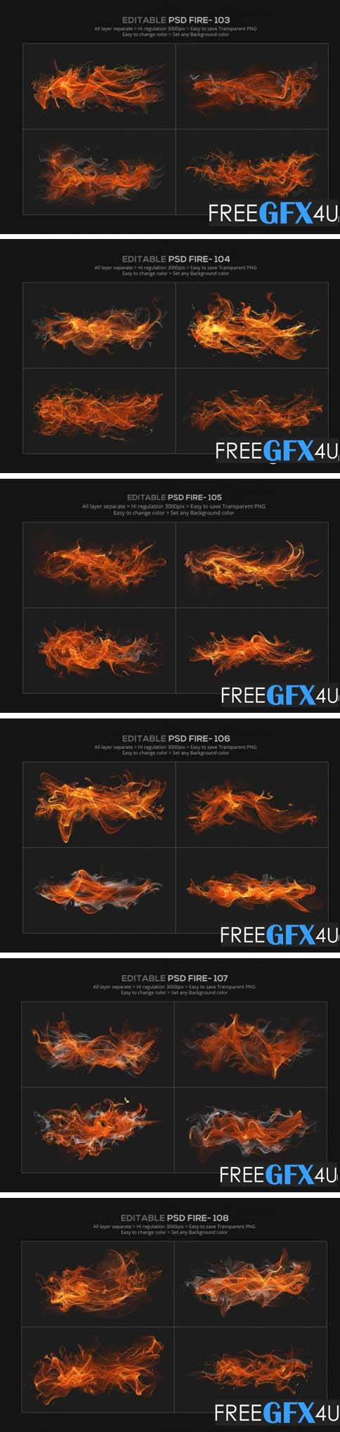 Abstract Fire Effect Design