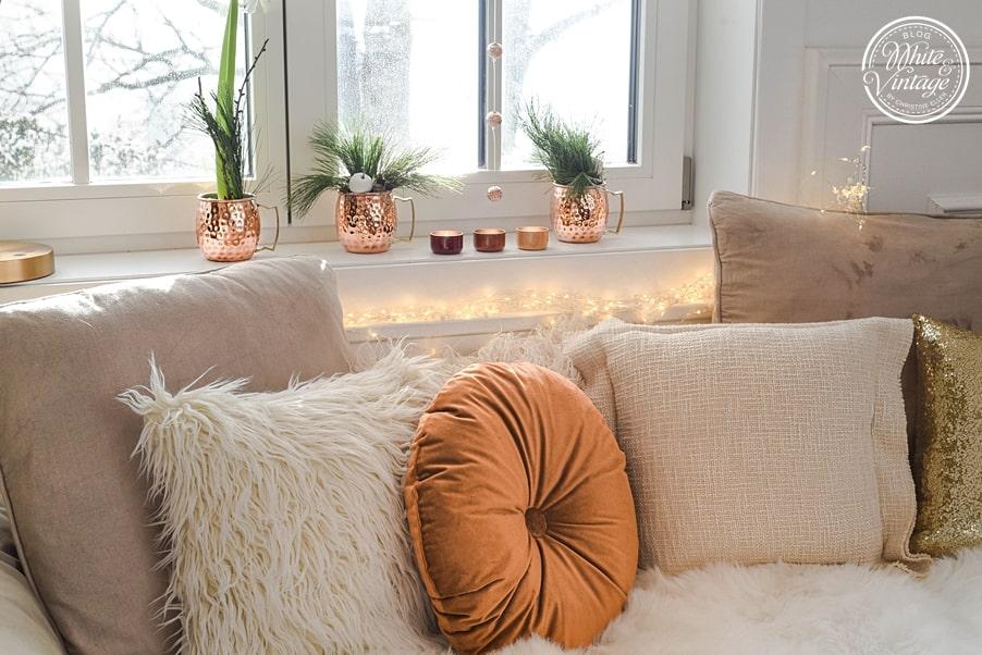 Weihnachtsfeeling für dein Wohnzimmer zaubern.