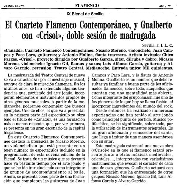 CRISOL BIENAL GUALBERTO