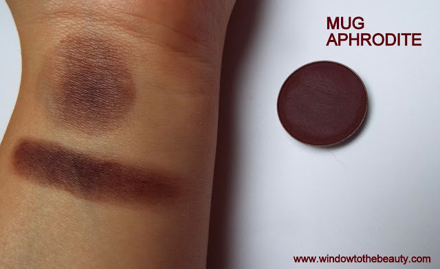 makeup geek aphrodite swatches