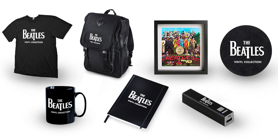 Beatles vinyl albums by subscription