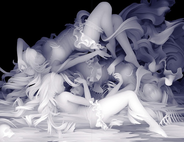 """DRAWING OF WE WERE ALREADY EXHAUSTED"" by Kazuki Takamatsu - 2018 