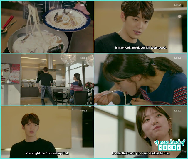 joon young make spaghetti for No Eul- Uncontrollably Fond - Episode 15 Review
