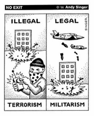 La Causa de Catón: El Terrorismo de Estado: ¿es una