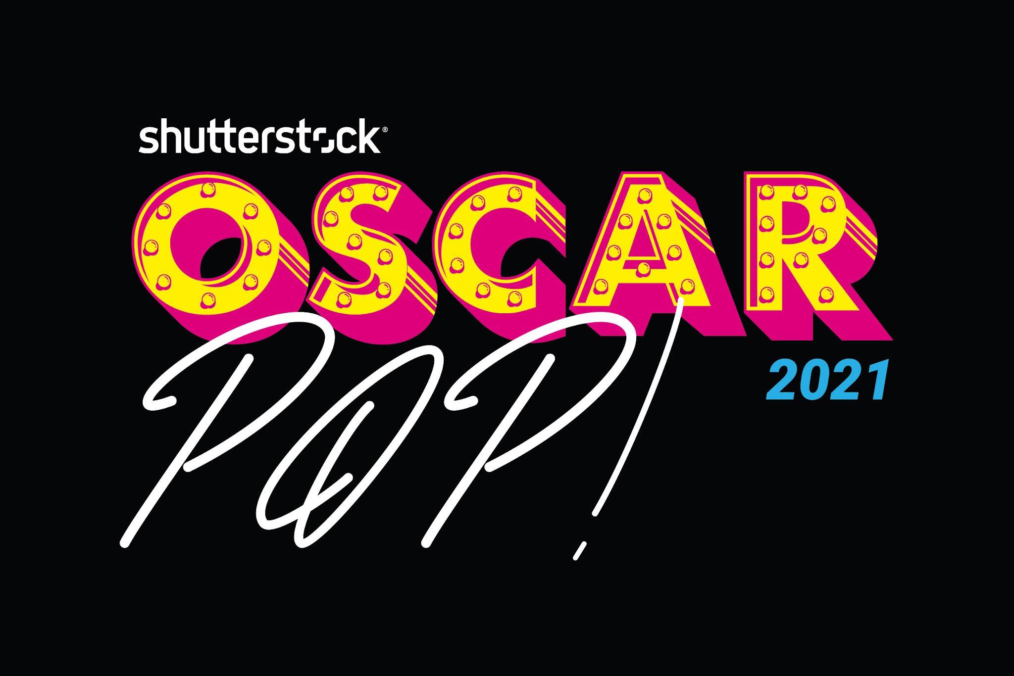 Oscar Pop!   Neuinterpretation nominierter Oscar Filme von Shutterstock