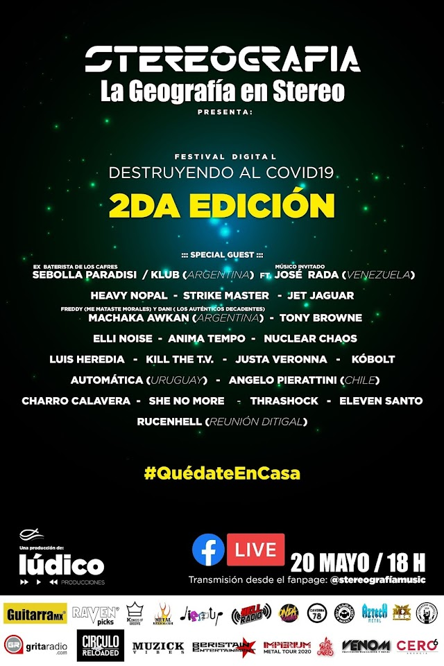 """PRESENTAN FESTIVAL DIGITAL """"DESTRUYENDO AL COVID-19"""" CON ARTISTAS DE TODO EL CONTINENTE"""