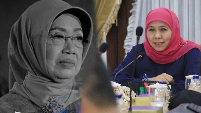 Subhanallah, Gubernur Khofifah Indar Ungkap Detik-detik Menjelang Ibunda Presiden Jokowi Wafat