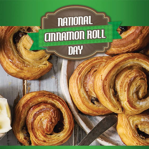 National Cinnamon Roll Day Wishes Sweet Images