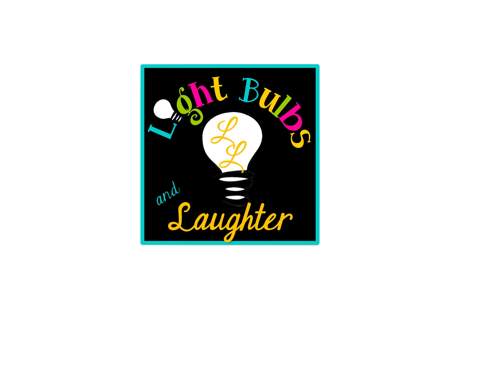 Light Bulbs and Laughter Logo