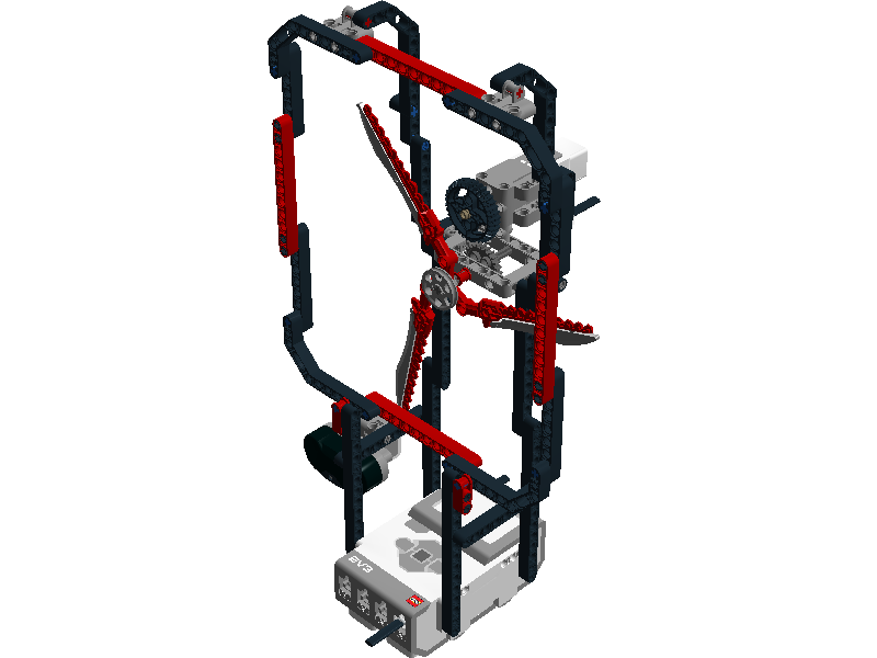 Easy projects for Lego Mindstorms EV3 Robot: EV3 Jubu Fan Robot