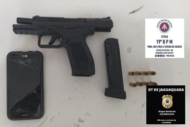 Homem morre em confronto com a polícia no Entroncamento de Jaguaquara