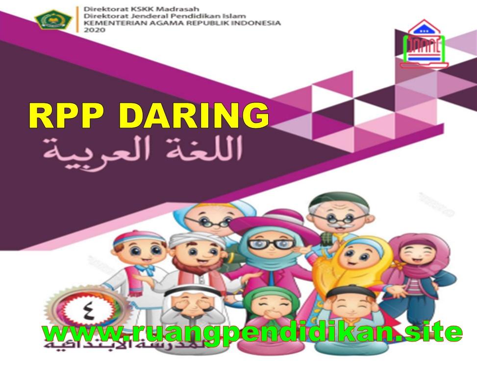 RPP Daring Bahasa Arab Kelas 4 SD/MI