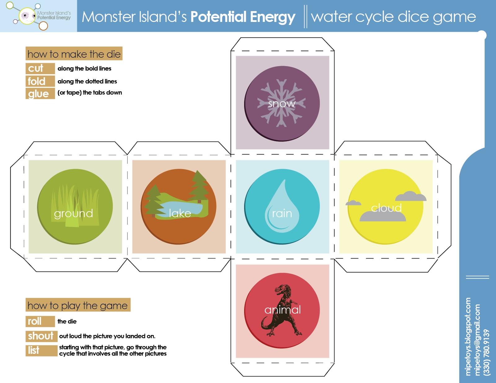 Monster Island S Potential Energy Thursday Study Guide