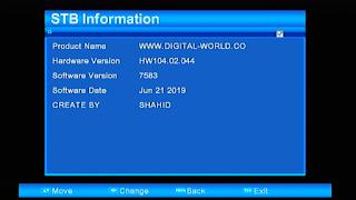 ALI3510D HW 104.02.044 TEN SPORT NEW SOFTWARE  UPGRADE BY USB