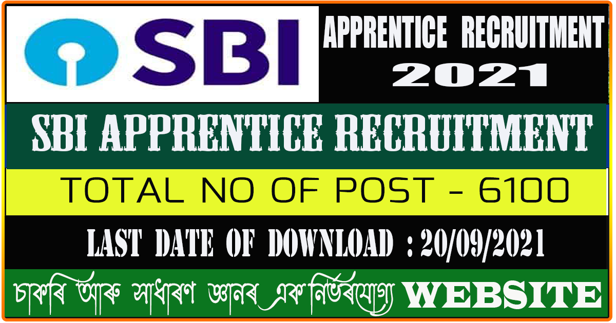 SBI Apprentice Admit Card Download