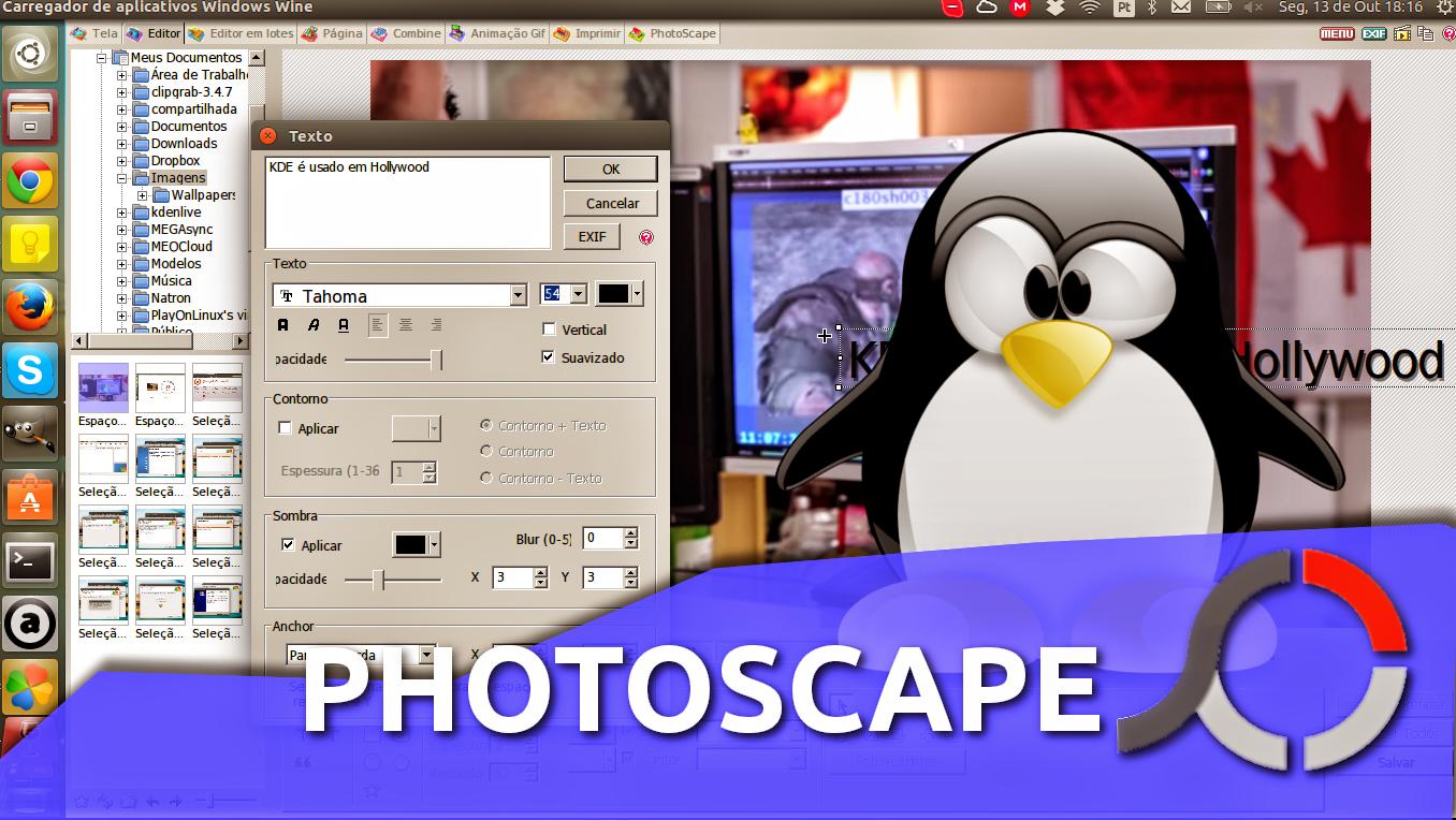 photoscape para ubuntu