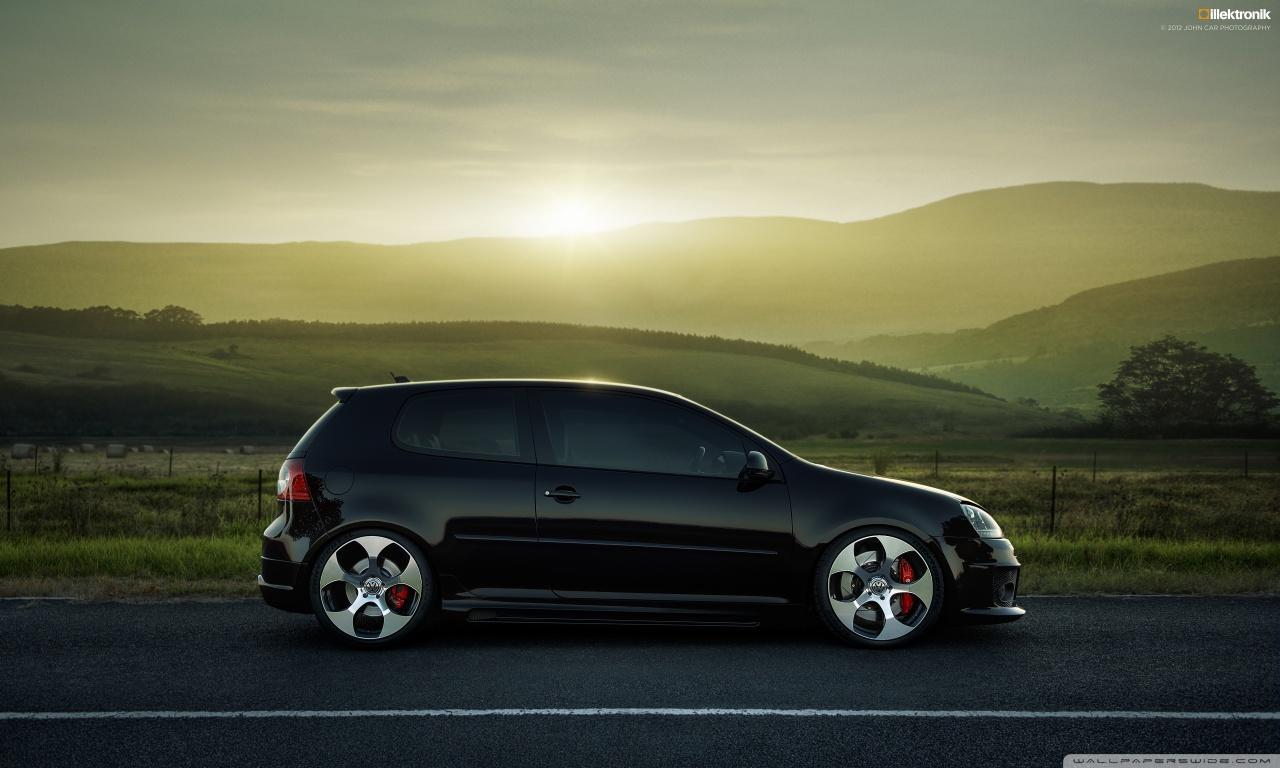 latest and new sport car wallpapers volkswagen golf gti wallpaper. Black Bedroom Furniture Sets. Home Design Ideas