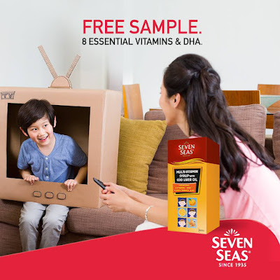 Seven Seas Malaysia Kids Multivitamin Syrup with Cod Liver Oil Free Sample