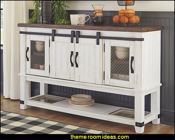 modern farmhouse furniture modern industrial farmhouse decor Jaydin Buffet Table