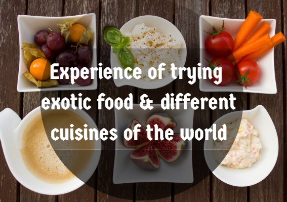 exotic food of the world