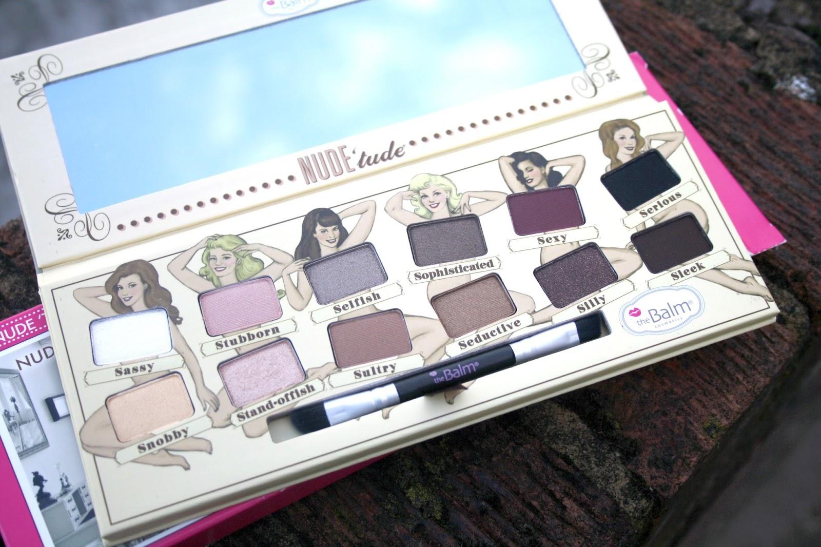 theBalm Nude Tude Naughty Eyeshadow Palette 0.382 Oz
