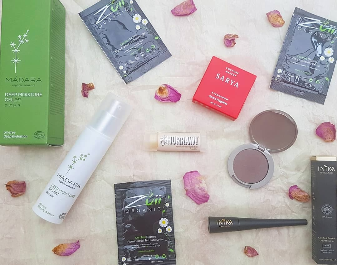 Love Lula Beauty Box - March 2019 Flatlay