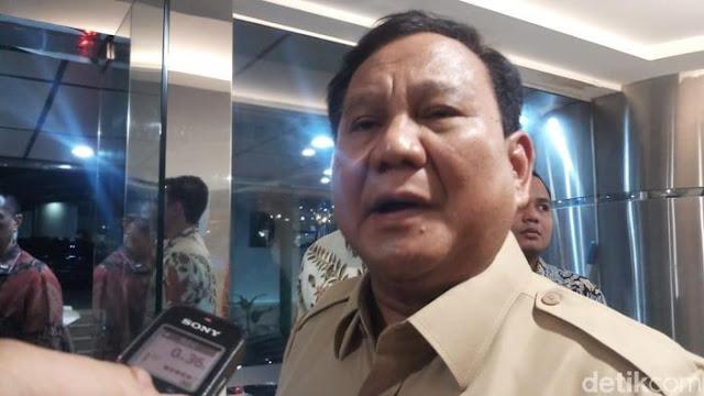 Ingin Damai soal Natuna, Prabowo: China Negara Sahabat
