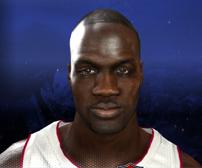 NBA 2K14 Joel Anthony Cyberface Mod