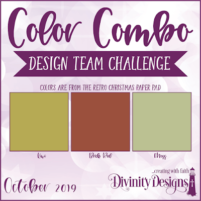 Divinity Designs LLC October Design Team Color Challenge