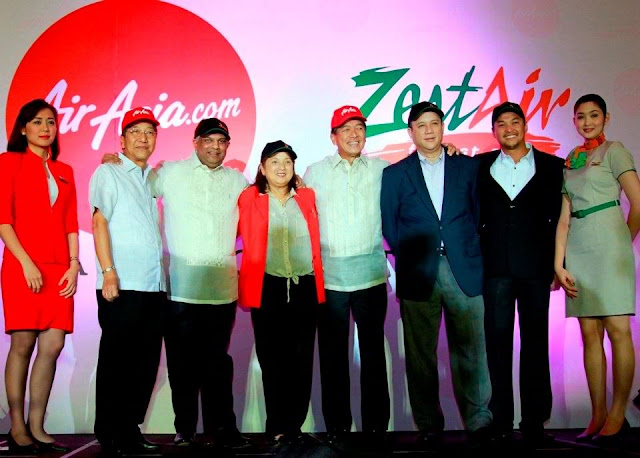 AirAsia Philippines and Zest Air signs Strategic Alliance