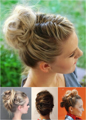 peinados recogidos con ondas