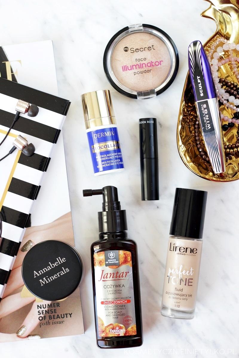 Kosmetyczni ulubieńcy roku 2016