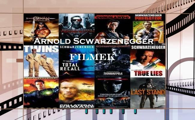 Arnold Scwarzenegger filmek
