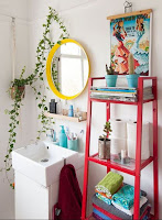 How to decorate bathroom storage
