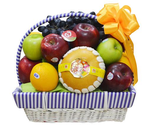 Giỏ hoa quả Tài Lộc T018