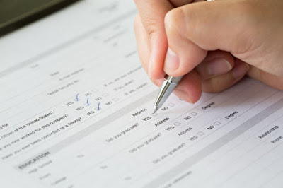 Data Entry of Survey Forms