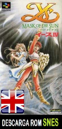 Ys IV Mask of the Sun J (Ingles) RPG v.Enby Aeon Genesis v2.0 en INGLES descarga directa