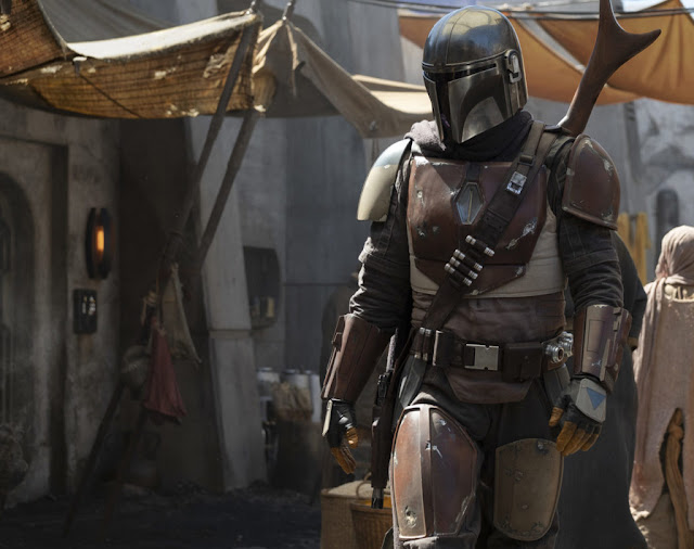the mandalorian suit armour