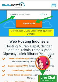Tata Cara Membeli Domain Di Niagahoster.