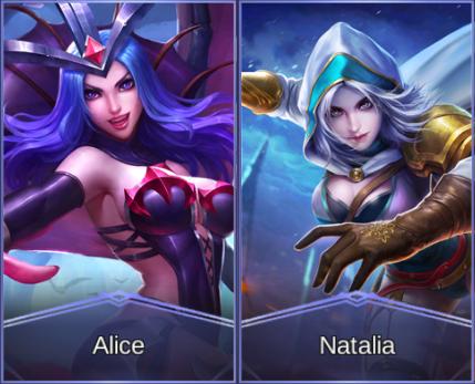 7. Natalia & Alice